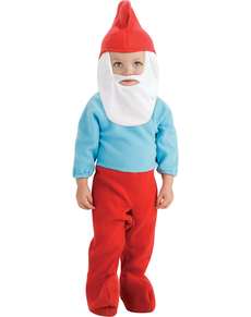 Grote Smurf kostuum voor baby