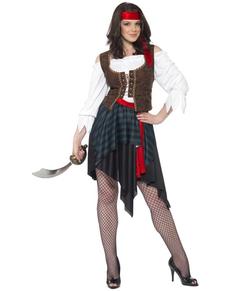 Klassiek Piraat kostuum voor vrouwen