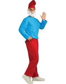 Grote Smurf volwassenen kostuum