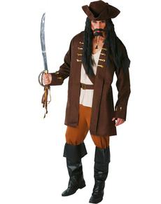 Piraat kapitein kostuum
