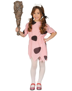 Pebbles Flintstone kostuum voor meisjes