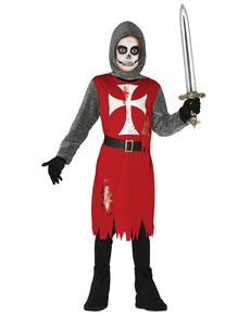 Kostuum schrikwekkende ridder voor jongens