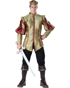Kostuum koning renaissance voor mannen