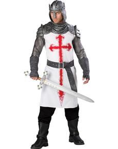 Kostuum ridderlijke strijder voor volwassenen